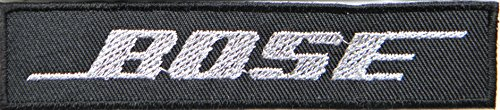 Bose Speaker Logo Patch Sew Iron On Embroiderd Sign Badge