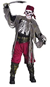 Buccaneer Bones Costume - Child Costume - Medium (8-10)
