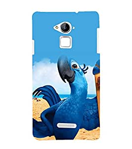 printtech Rio Parrot Disney Cartoon Back Case Cover for Coolpad Note 3