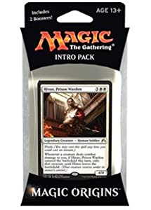 Magic the Gathering: MTG Magic Origins: Intro Pack / Theme Deck: Hixus, Prison Warden (includes 2 Booster Packs & Alternate Art Premium Rare Promo) White