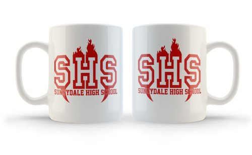 Buffy The Vampire Slayer Sunnydale High Mug by Cultzilla