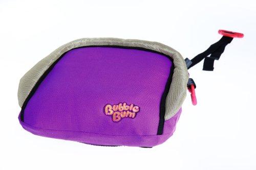 BubbleBum BUB10002 V2 - Seggiolino auto per bambino, portatile, gonfiabile, colore: Viola/Verde