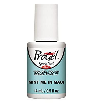 SuperNail ProGel LED/UV Tropical Pop! Collection - Summer 2015 (0.5oz)-MINT ME IN MAUI