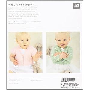 rico baby 007. Das kleine Rico Baby Handstrick Buch: 23 Designs für Babies von 0 bis 24 Monaten, Ha