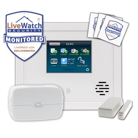 Livewatch In Home Security System Package front-66220