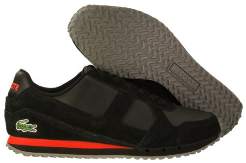 f1d1a5847235 Lacoste Castera CIW SPM Mens Casual Shoes 7-24SPM20361B5 Black 11.5 M US