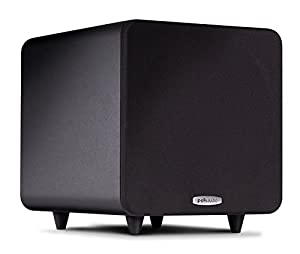 Polk Audio PSW111 Subwoofer (Single, Black) from Polk Audio