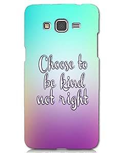 Hugo Samsung Galaxy E5 Back Cover Hard Case Printed Designer Multicolour
