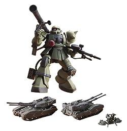 HG UCHG 1/144 MS-06 ザク地上戦セット