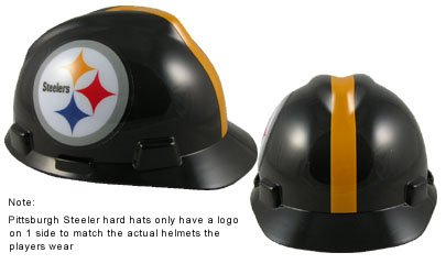 MSA Safety Works 818438 NFL Hard Hat, Pittsburgh Steelers at Amazon.com