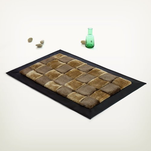 Onitiva - [Brown Tone] Handwoven Home Rugs (19.7 by 31.5 inches)