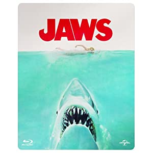 Jaws Limited Edition Steelbook (Blu-ray + Digital Copy + UV Copy) [1975]