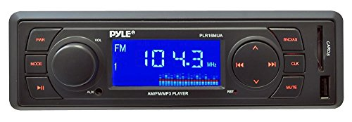 Pyle PLR16MUA In-Dash AM/FM-MPX Receiver MP3 Playback with USB/SD Card (Mustang Head Unit compare prices)