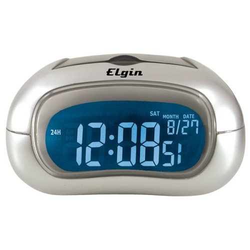 Elgin Electric Alarm Clock with Selectable Display Color