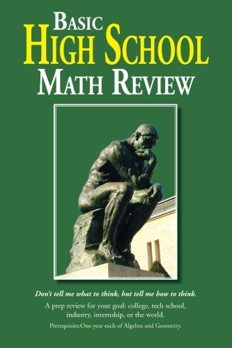 Basic High School Math Review