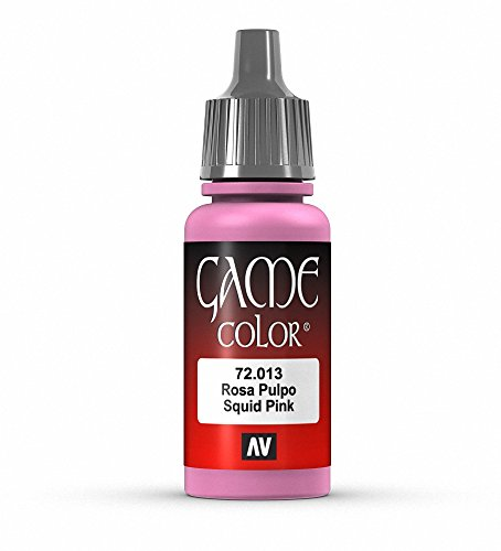 Vallejo Game Color Squid Pink Paint, 17ml