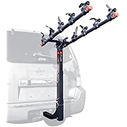Allen Sports Deluxe 5-Bike Hitch Mount Rack with 2-Inch Receiver by Allen Sports