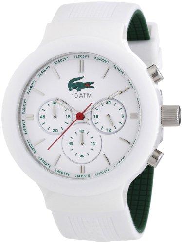 899bcd3fa654 Lacoste 2010653 - Reloj analógico de cuarzo para hombre con correa de  silicona