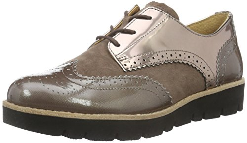 Gabor Shoes Comfort Sport, Scarpe Stringate Donna, Beige (Dark-Nude (S.S/c) 42), 42.5 EU
