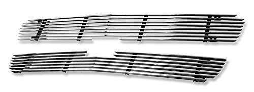APS Polished Chrome Billet Grille Grill Insert #C65717A (2500 Hd Grill Inserts compare prices)