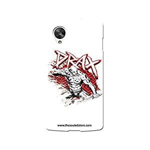 Guardians of the Galaxy : Drax Nexus 5 Mobile Case by The Souled Store