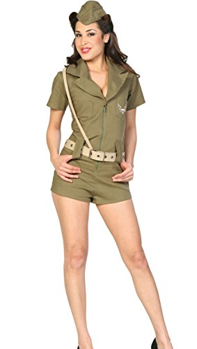 First Line of Defense Military Girl Adult Costume Size 6-8 Small