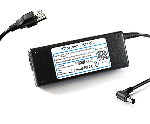 Optimum Orbis Ac Adapter for Sony VAIO VPCCA15FX/W VPCCA17FX/G VPCCA190X VPCCB17FX/B VPCCB190X VGN-CR520E/R VPC-EA43FX/WI VPC-EA44FX/BJ VPC-EA44FX/WI VPC-EA45FX/BJ VPC-EA47FX/B VPCEA4CGX/BJ VPC-EB42FX/BJ VPC-EB43FX/BJ VPC-EB45FX/BJ VPCEB4BGX/BJ VPCEB4CGX/BJ VPC-EE41FX/BJ VPC-EE41FX/WI VPC-EE43FX/BJ VPC-EE47FX/BJ VPCS13CGX/B VPCS13DGX/B VPCS13EGX/B VPCSA290X VPCSA2BGX/BI VPCSA2CFX/SI VPCSA2SGX/T VPC-YB13KX/S VPCY21AFX/B Laptop Notebook Battery Charger Power Supply Cord (Amp With Wi compare prices)