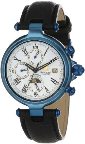 Steinhausen Men's SW391UWL Marquise Three Eyes Automatic Watch