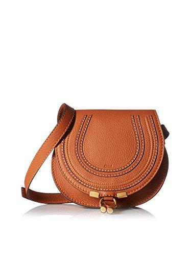 Chloé Women's Marcie Small Saddle Bag, Tan