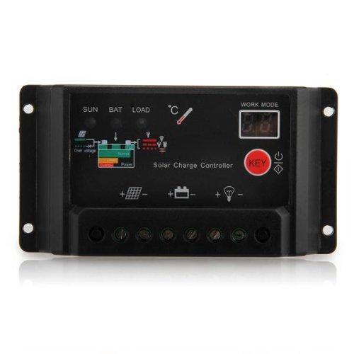 Sodial(R) 20A 12V/24V Solar Panel Battery Charger Charging Controller Regulator