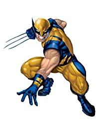 RoomMates RMK1485GM Wolverine Peel & Stick Giant Wall Decal