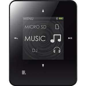 Creative Zen Style M300 4GB MP3 Player with MicroSD Slot, Voice Recorder, FM Radio, Bluetooth, BLACK/WHITE
