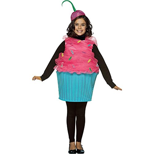 Girl's Sweet Eats Cupcake Kids Costume - 7-10