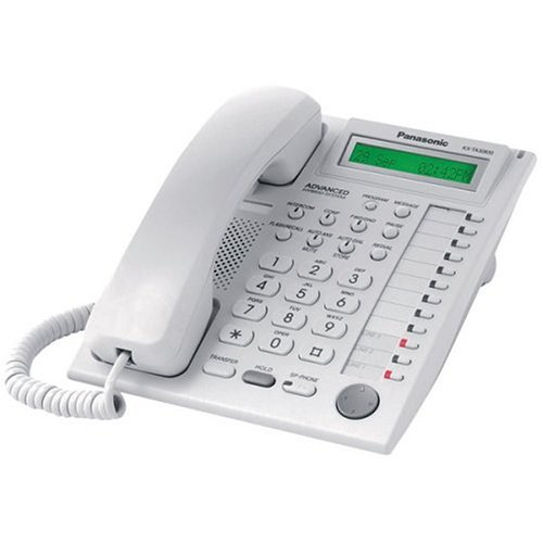 Panasonic KX-TA30830 12-BUTTON Speakerphone Telephone with Backlit Single Line LCD Display