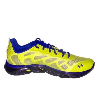 Under Armour Men's UA SpineTM Venom Running Shoes BIT/CSP/BLK(11.5)