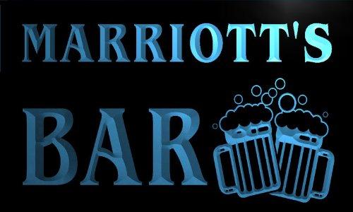 w006238-b-marriotts-nom-accueil-bar-pub-beer-mugs-cheers-neon-sign-biere-enseigne-lumineuse