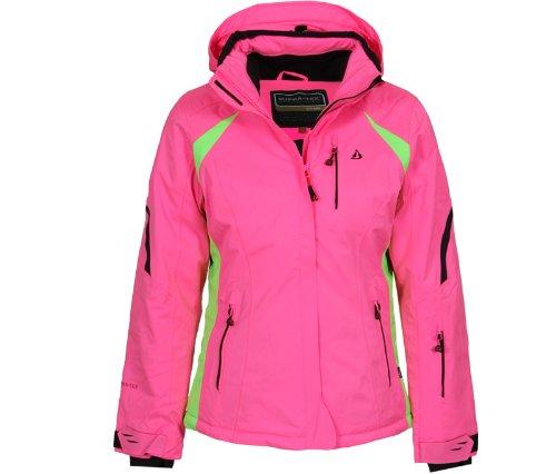 Bergson Damen Skijacke Snowtastic, Neon Pink [470], 38, YF13-810008F