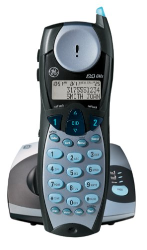 GE 27935GE3 2.4 GHz Analog 2-Line Cordless Phone with Caller ID