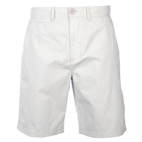 Pierre Cardin -  Pantaloncini  - Uomo Grigio/bianco Large