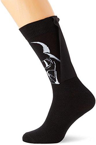 Meroncourt Darth Vader Cape-Calze Uomo    nero 45-48