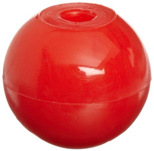 Molecular Models Red Plastic Oxygen Monovalent Atom Center, 20mm Diameter (Pack of 10)