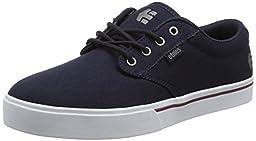 Etnies Men\'s Jameson 2 Eco Skateboarding Shoe, Navy/White, 9 M US