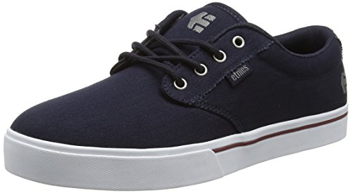 Etnies Men's Jameson 2 Eco Skateboarding Shoe, Navy/White, 11 M US