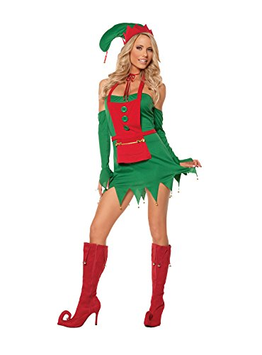 Sexy Holiday Helper Naughty Elf Adult Roleplay Costume