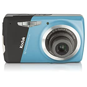Kodak EasyShare M530 12MP Digital Camera with 3x Wide Angle Optical Zoom and 2.7 Inch LCD (Blue)