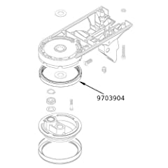 KitchenAid 9703904 Replacement Gear Parts