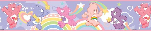 Brewster PS96300 Brewster Care Bears Wall Border