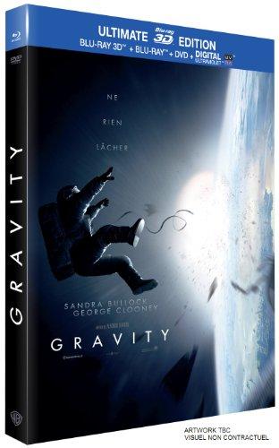 Gravity - Combo DVD + Blu-ray + Blu-ray 3D