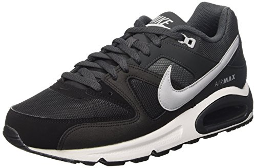 Nike Air Max Command, Zapatillas de Running Para Hombre, Gris / Negro / Blanco (Black / Wolf Grey-Anthracite-W 64.95€