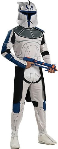 Clone Trooper Captain Rex Costume - X-Large - Chest Size 44-46